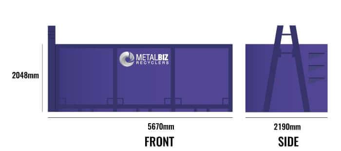 20M³ bin