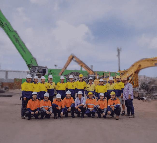 Metal Biz Recyclers Team